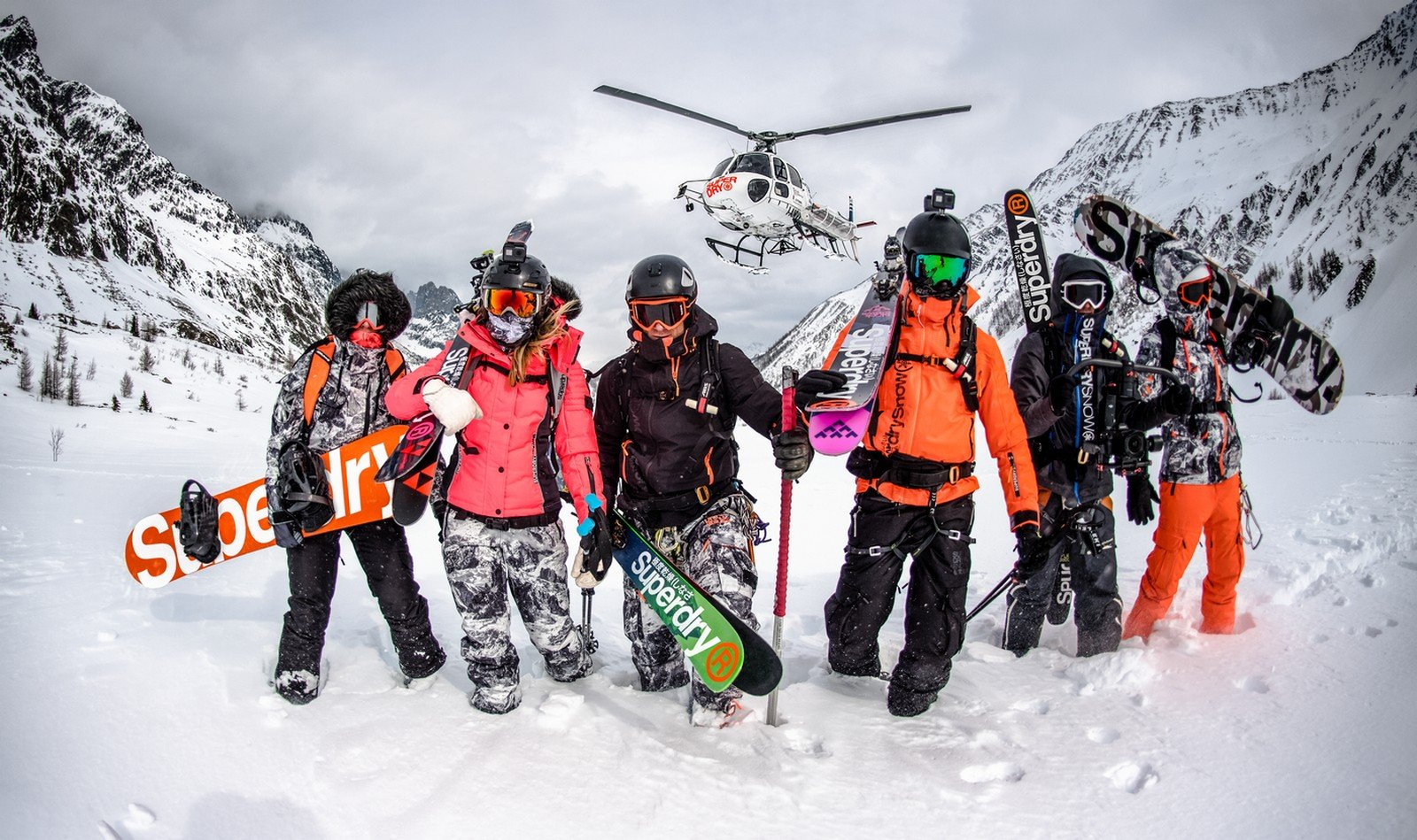 Vêtement Ski Superdry