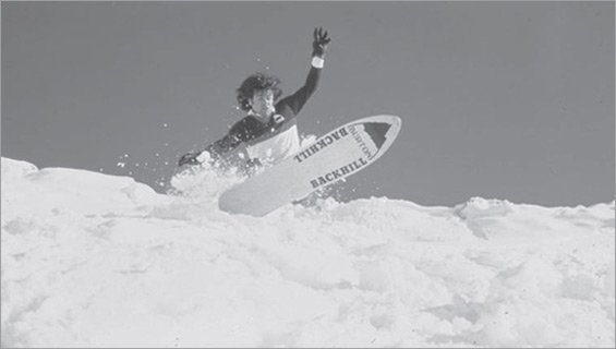 Backhill Burton Snowboard