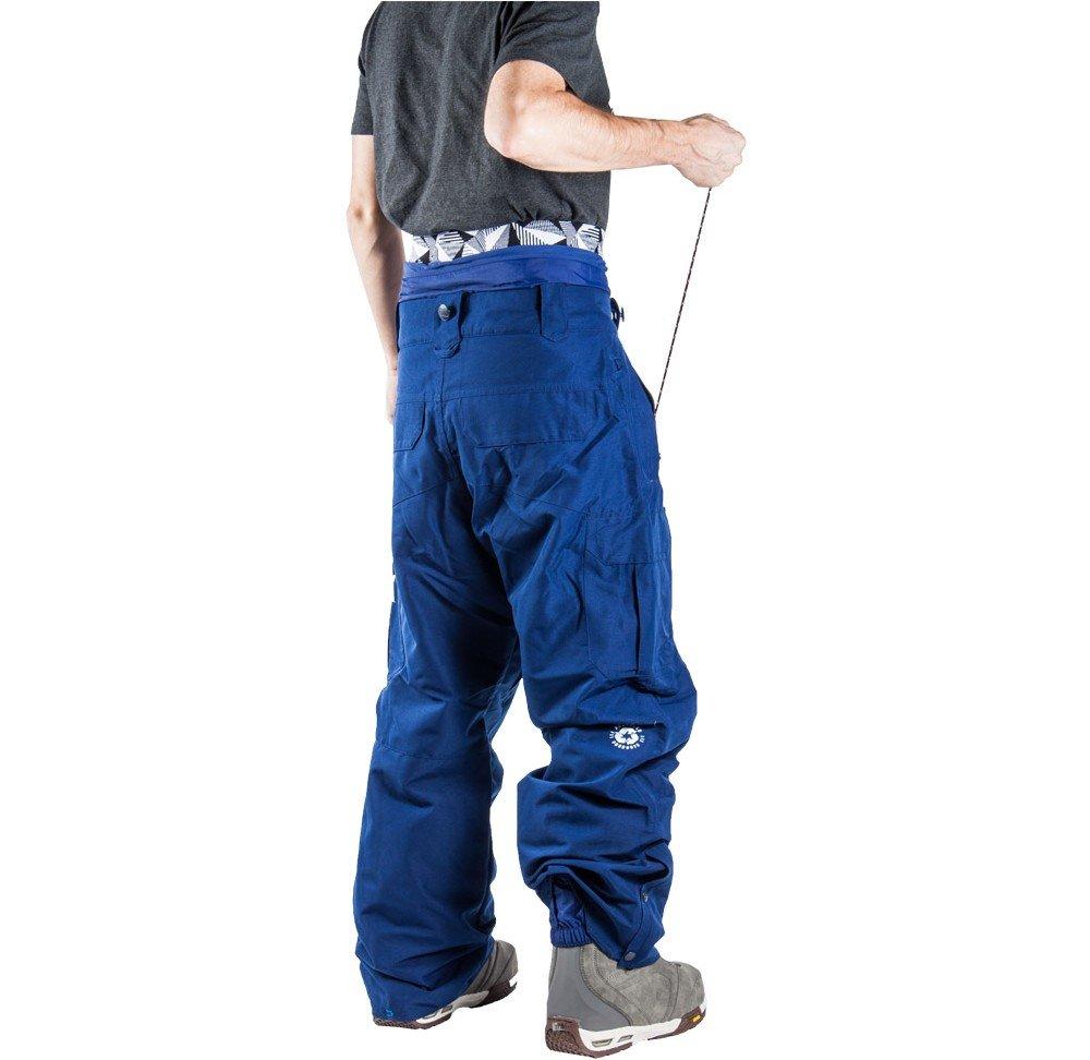 exemple relève bas de pantalon ski