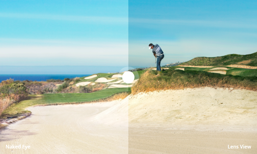 Lunette Prizm Golf Oakley