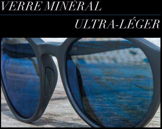 verre ultra léger pour lunette de soleil Serengeti