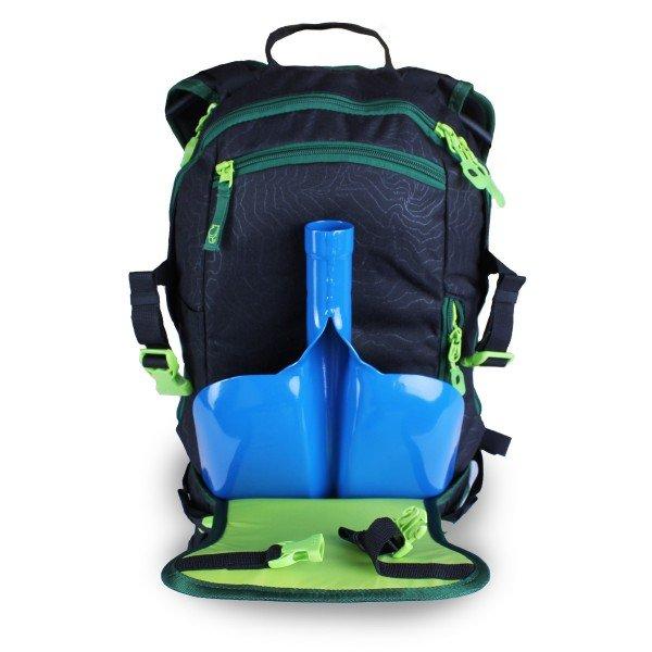 sac à dos Dakine Heli Pack interieur