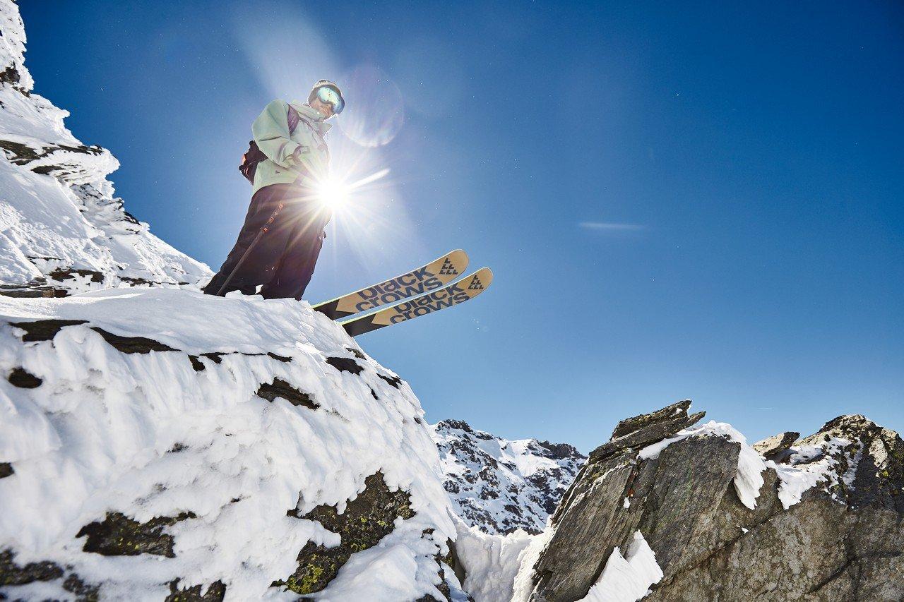 Ski freeride Black Crows